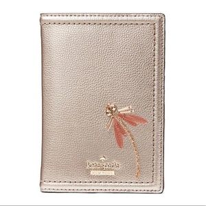 NWT! Kate Spade ♠️ Dragonfly Passport holder